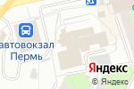 Схема проезда до компании Территориальный орган Федеральной службы государственной статистики по Пермскому краю в Перми