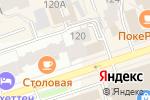 Схема проезда до компании Большевистская 120 в Перми