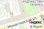 Схема проезда до компании Мягкое золото в Перми