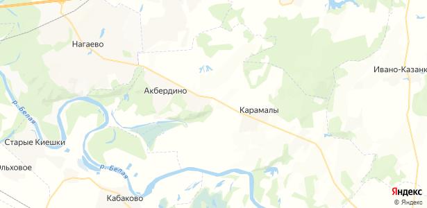 Блохино на карте