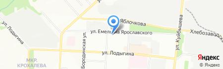 Александровский на карте Перми
