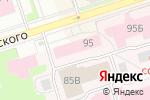 Схема проезда до компании Пермская краевая консультативная поликлиника в Перми