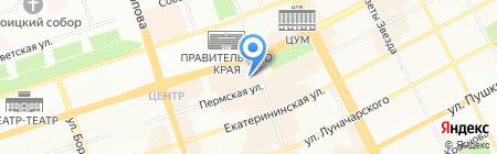 Оленья застава на карте Перми