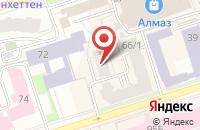 Схема проезда до компании ИТЕКО Россия в Белгороде