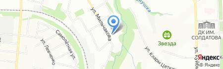 Рис_Лапша на карте Перми