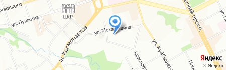 Эском на карте Перми
