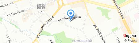 Фаэтон на карте Перми