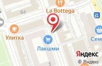 Схема проезда до компании Промет в Перми
