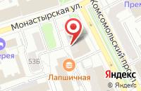 Схема проезда до компании Пушка в Перми