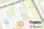 Схема проезда до компании Резиденция в Перми
