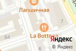Схема проезда до компании Свои Люди в Перми