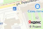 Схема проезда до компании Столовая в Перми