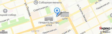 Министерство культуры на карте Перми