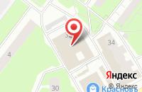 Схема проезда до компании Сфера в Перми