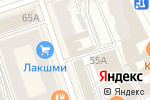 Схема проезда до компании ДОСААФ России Пермского края в Перми