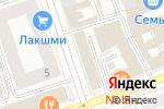 Схема проезда до компании Бизнес Сити Групп в Перми