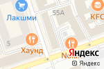 Схема проезда до компании ВИКОМ в Перми