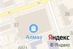 Схема проезда до компании Federico в Перми