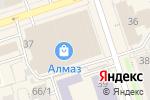 Схема проезда до компании Фокус-Про в Перми