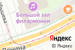 Схема проезда до компании Пермская объединенная краевая коллегия адвокатов в Перми