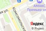 Схема проезда до компании Евро-Дент в Перми