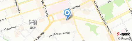 Incity на карте Перми