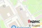 Схема проезда до компании Центральная касса в Перми