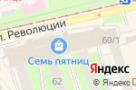 Схема проезда до компании Xiaomi & Meizu Shop в Перми