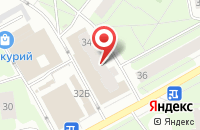 Схема проезда до компании Айс-Фуд в Перми