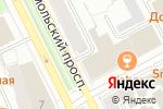 Схема проезда до компании Дно в Перми