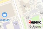 Схема проезда до компании Сream bar в Перми