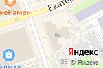 Схема проезда до компании Krutik в Перми