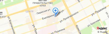 Batel на карте Перми