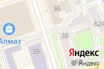 Схема проезда до компании Гослото в Перми
