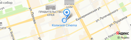 Soho на карте Перми
