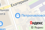 Схема проезда до компании Меланж в Перми