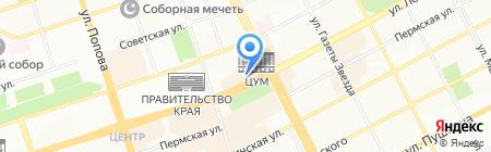 Пельменная №2 на карте Перми