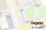 Схема проезда до компании Юнити в Перми