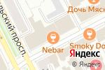 Схема проезда до компании Express Yourself в Перми