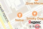 Схема проезда до компании JazzMix в Перми