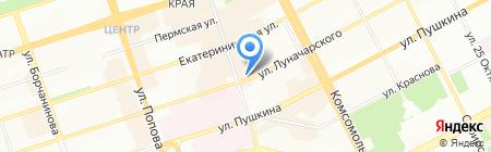 Игрушки на карте Перми
