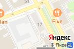Схема проезда до компании 7 ложек в Перми