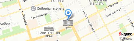 В движении! на карте Перми