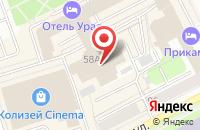 Схема проезда до компании Рекламное агентство  в Перми