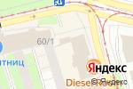 Схема проезда до компании Дисконт обувь в Перми