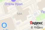 Схема проезда до компании City Brights в Перми
