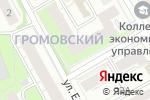 Схема проезда до компании Федеральный Пенсионный Брокер в Перми