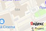Схема проезда до компании Корпорация С в Перми