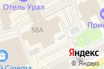 Схема проезда до компании Gra.F в Перми
