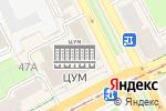 Схема проезда до компании Рижская мыловаренная мануфактура в Перми